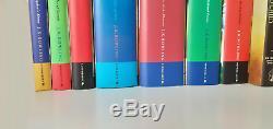Harry Potter Complete Set All Cartonnés Livres 1-7 Bloomsbury Jk Rowling + Plus