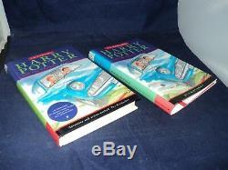 Harry Potter Complete Set De 7 Hardback Bloomsbury Books Édition