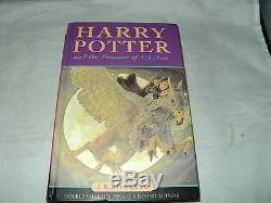 Harry Potter Complete Set De 7 Livre Relié Bloomsbury Aucun Couvre De Poussière