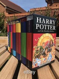 Harry Potter Complete Set Dur Retour 1-7 Avec Coverslip