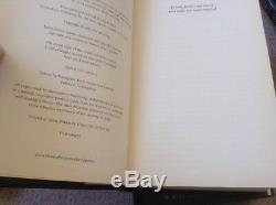 Harry Potter Complete Set Livre Relié Pour Adultes 1er Première Édition 1er Imprimer Vgc
