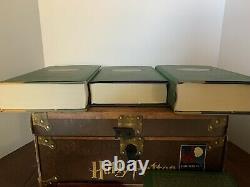 Harry Potter Complete Set Livres Livre À Couverture Rigide 1-7 Poudlard Trunk