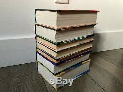 Harry Potter Complete Set Lot De 7 Relié Livres Bloomsbury 1 2 3 4 5 6 7 Dj