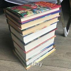 Harry Potter Complete Set Lot De 8 Livres Bloomsbury Raincoast 1-8 1 2 3 4 5 6 7