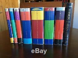 Harry Potter Complete Set Plus 1, J. K. Rowling, Bloomsbury, Hback, Première Édition