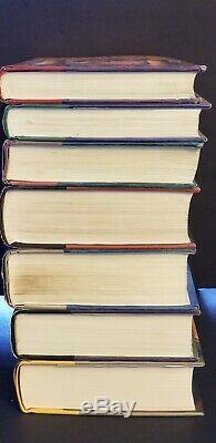 Harry Potter Complete Set Relié Livres 1-7 1ère Édition Américaine Lire Desc