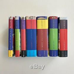 Harry Potter Complete Set Relié Livres 1-7 Bloomsbury Raincoast Jk Rowling