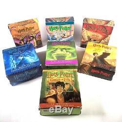 Harry Potter Complete Set Unabridged Audio Book CD 1-7 Par J. K Rowling