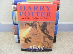 Harry Potter Complete Tous Cartonnés Book Set 1-7 Bloomsbury & Animaux Fantastiques
