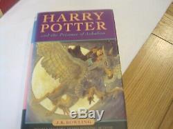 Harry Potter Complete Uk Bloomsbury Premier Livre Set Su Hardback Imprime Tôt