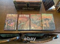 Harry Potter Couverture Rigide Série Complète Dans Le Coffre Collectible Avec Ensemble De Sticker