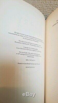 Harry Potter Deluxe Edition Uk Ensemble Complet Bloomsbury Toutes Les Premières Éditions