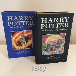 Harry Potter Deluxe Edition Uk Ensemble Complet De Bloomsbury, 7 Livres Cartonnés