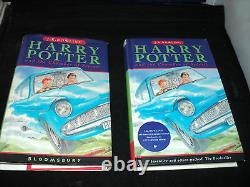 Harry Potter Ensemble Complet De 7 Hardback Bloomsbury 1er Édition Livres