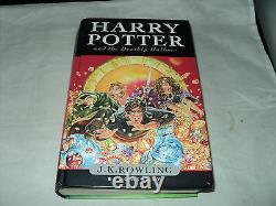 Harry Potter Ensemble Complet De 7 Hardback Bloomsbury Pas De Couvertures De Poussière
