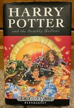 Harry Potter Ensemble Complet De 7 Livre Relié Bloomsbury Books (y Compris 3x 1st Editions)