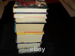Harry Potter Ensemble Complet De 7 Livres Cartonnés Édition Bloomsbury New Old Stock