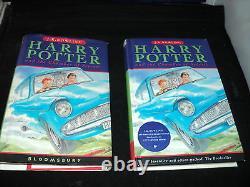 Harry Potter Ensemble Complet De 7 Livres Hardback Bloomsbury 1ère Édition