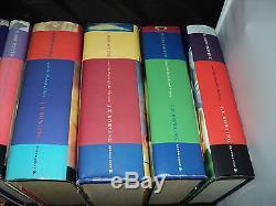 Harry Potter Ensemble Complet De 7 Livres Intelligents À Couverture Rigide Bloomsbury & Ted