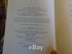 Harry Potter Ensemble Complet De Livres À Couverture Rigide 1-7 Rowling 1ère Édition Américaine + Bonus
