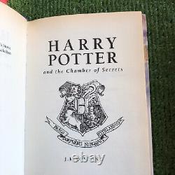 Harry Potter Ensemble Complet De Livres Hard Back Premières Éditions