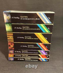 Harry Potter Ensemble Complet Français Folio Junior 7 Livres Livres Limited Ed
