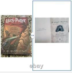 Harry Potter Ensemble Complet Hardcover Américain 1er Premier Ed (6) 1er Tirage Pr