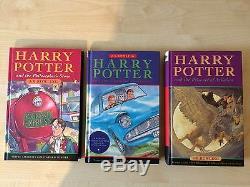 Harry Potter Ensemble Complet, J. K. Rowling, Bloomsbury, H'back, Première Édition