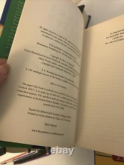 Harry Potter Ensemble De Livres Bloomsbury All Hardback Ensemble Complet De Première Édition 1-7