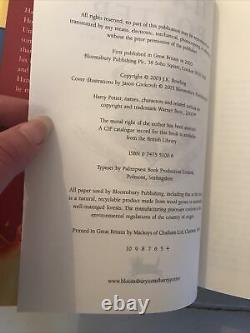 Harry Potter Ensemble De Livres Bloomsbury All Hardback Première Édition Early Complete 1-7
