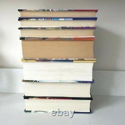 Harry Potter First Edition Hardback Books Royaume-uni Bloomsbury Ensemble Complet De 7