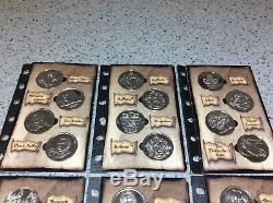 Harry Potter Gringotts Coin Collection Économies Recueil Set Page Nom Blank