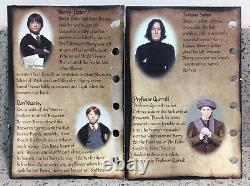 Harry Potter Gringotts Coin Collection Savings Livre Ensemble Complet Nom Du Blanc Page