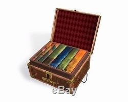 Harry Potter Hardcover Ensemble De Livres En Boîte # 1 7 Complète Nouveau Jk Rowling Gift