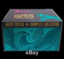 Harry Potter Hardcover Uk'bloomsbury Of London 'série Complète Ensemble Coffret
