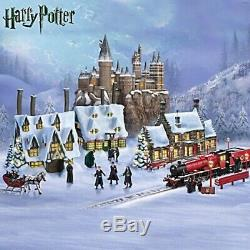 Harry Potter Illuminated Village De Noël 8 Piece Complete Collection