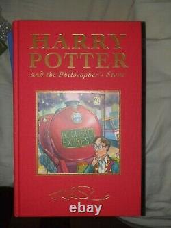 Harry Potter J K Rowling Signature Deluxe Ensemble Complet 7 Livres