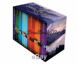 Harry Potter La Série Complète Boxed Set Collection 2014 Uk Edition Nouveau