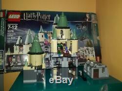 Harry Potter Lego 5378 Château De Poudlard 99,9% Complet Avec Tous Les Chiffres Et La Boîte