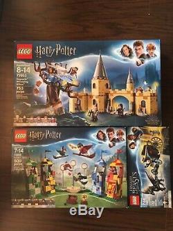 Harry Potter Lego Lot Complet En Boîte Bêtes Fantastiques 75953 75956 75951 Minifig