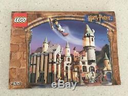 Harry Potter Lego Set 4709! Le Château Original De Poudlard! 100% Complet Avec Boîte
