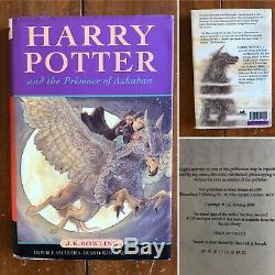 Harry Potter Livre Relié Ensemble Complet X7 Bundle First Editions Impressions Diverses