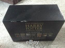 Harry Potter, Livre Relié Pour Adulte, Coffret Complet, Jk Rowling, Épuisé