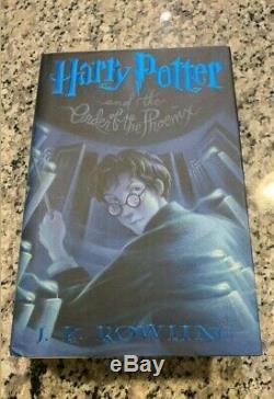 Harry Potter Livres À Couverture Rigide Ensemble Complet Américain First Edition