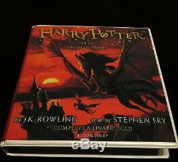 Harry Potter Livres Audio 1-7 __gvirt_np_nn_nnps<__ Complete Set. Lire Par Stephen Fry. Dernières Versions