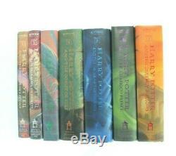 Harry Potter Lot De 7 Livres Set Avec Jackets Dust Complet Livre À Couverture Rigide