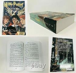 Harry Potter Lot De 8 Livres Français J. K. Rowling Set Série Complète