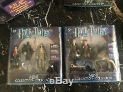 Harry Potter Magicobus Playset Sacoche De Transport Et Chiffres 2003 Nouvel Ensemble Complet