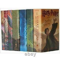 Harry Potter Nouveau 7 Livres Hardcover Série Complète Boîte De Collection Lot Cadeau