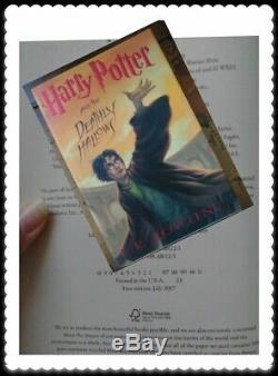 Harry Potter Première Édition Première Impression Ensemble Complet 1-7 Livre Relié Rowling